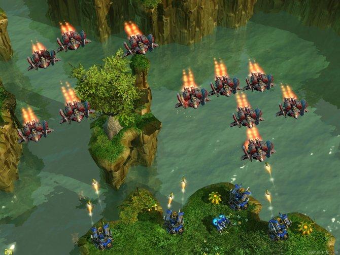 Скриншот игры StarCraft 2: Wings of Liberty