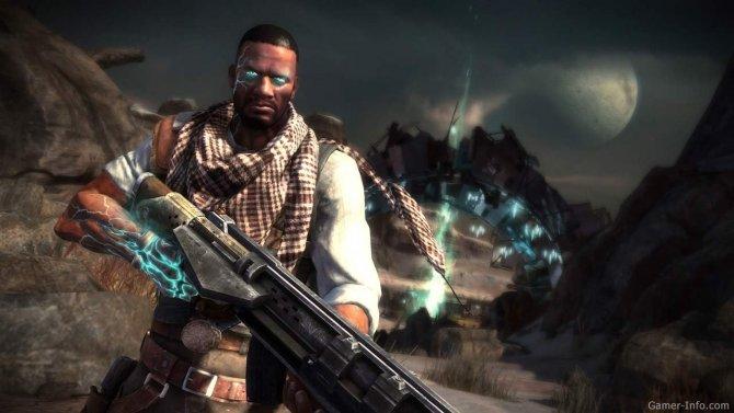 Скриншот игры Starhawk