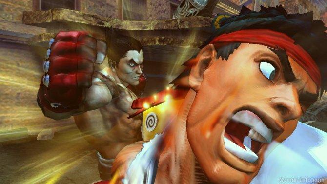 Скриншот игры Street Fighter x Tekken