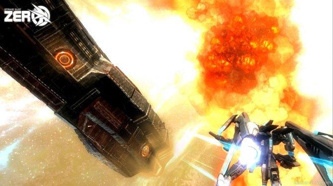 Скриншот игры Strike Suit Zero