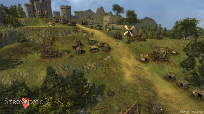 Скриншот игры Stronghold 3