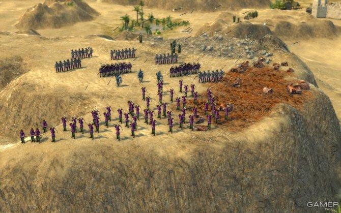 Скриншот игры Stronghold Crusader 2