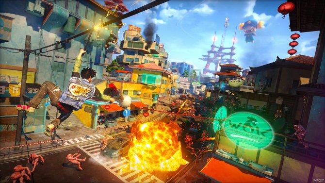 Скриншот игры Sunset Overdrive