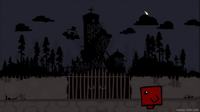 Скриншот игры Super Meat Boy