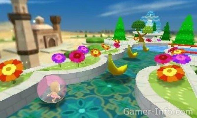 Скриншот игры Super Monkey Ball 3DS