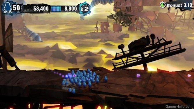 Скриншот игры Swarm