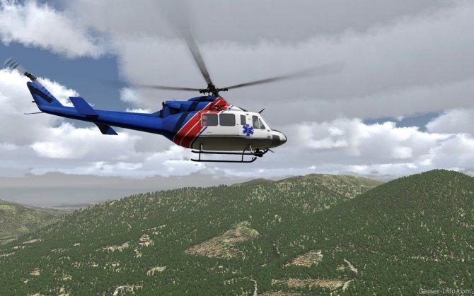 Скриншот игры Take On Helicopters