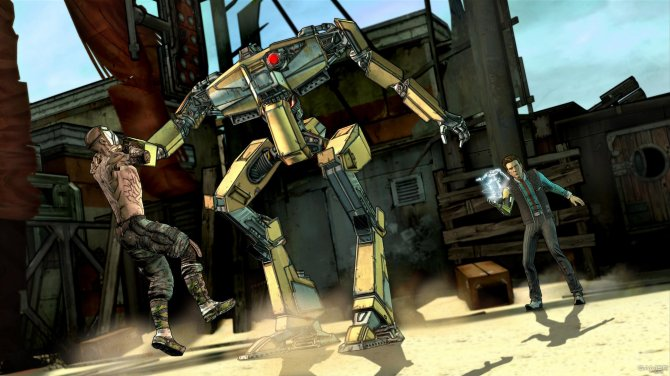 Скриншот игры Tales from the Borderlands: A Telltale Games Series