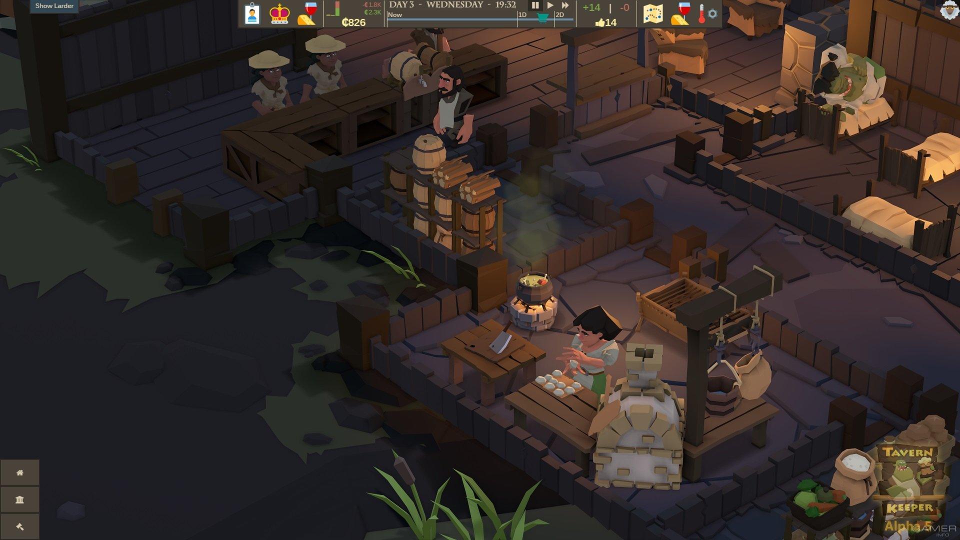 Анонсирован симулятор фэнтезийной таверны Tavern Keeper