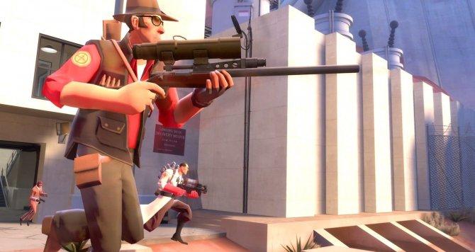 Скриншот игры Team Fortress 2