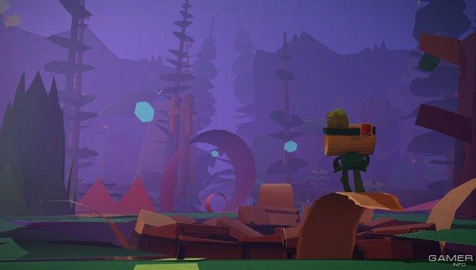 Скриншот игры Tearaway