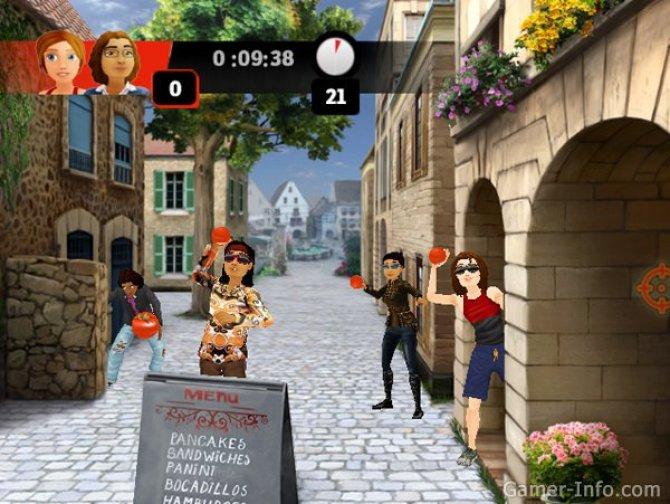 Скриншот игры The Amazing Race Videogame