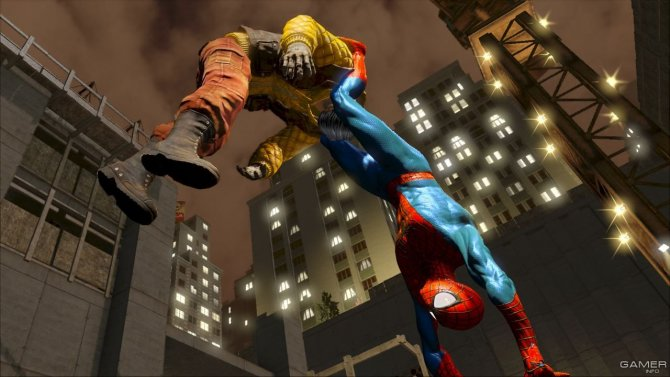 Скриншот игры The Amazing Spider-Man 2