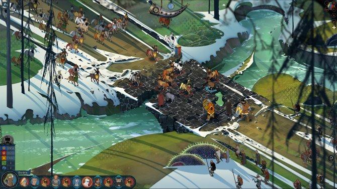 Скриншот игры The Banner Saga 2