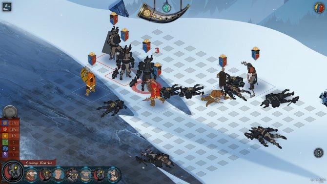 Скриншот игры The Banner Saga