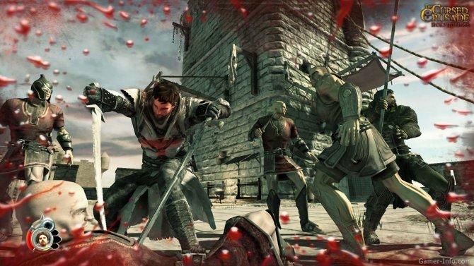 Скриншот игры The Cursed Crusade