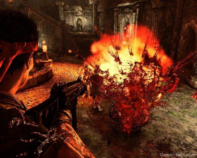 Скриншот игры The Haunted: Hell's Reach