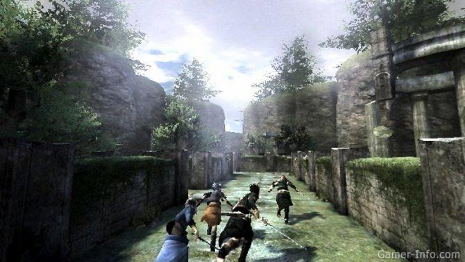 Скриншот игры The Last Story
