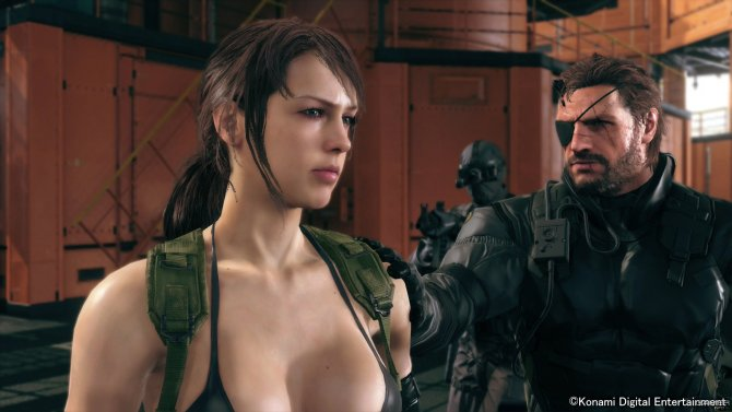 Скриншот игры Metal Gear Solid V: The Phantom Pain
