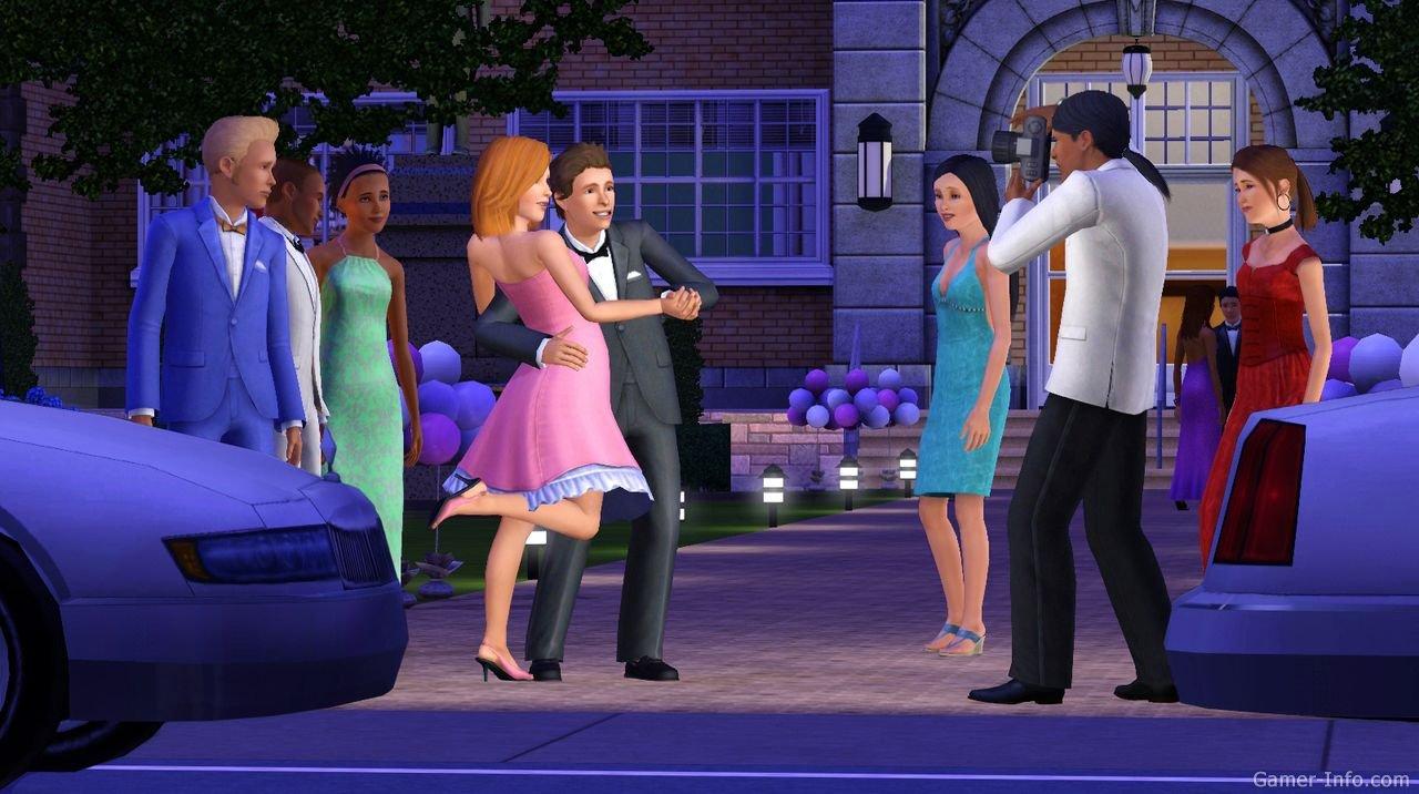 Сезонные праздники в The Sims 3 Времена года 97