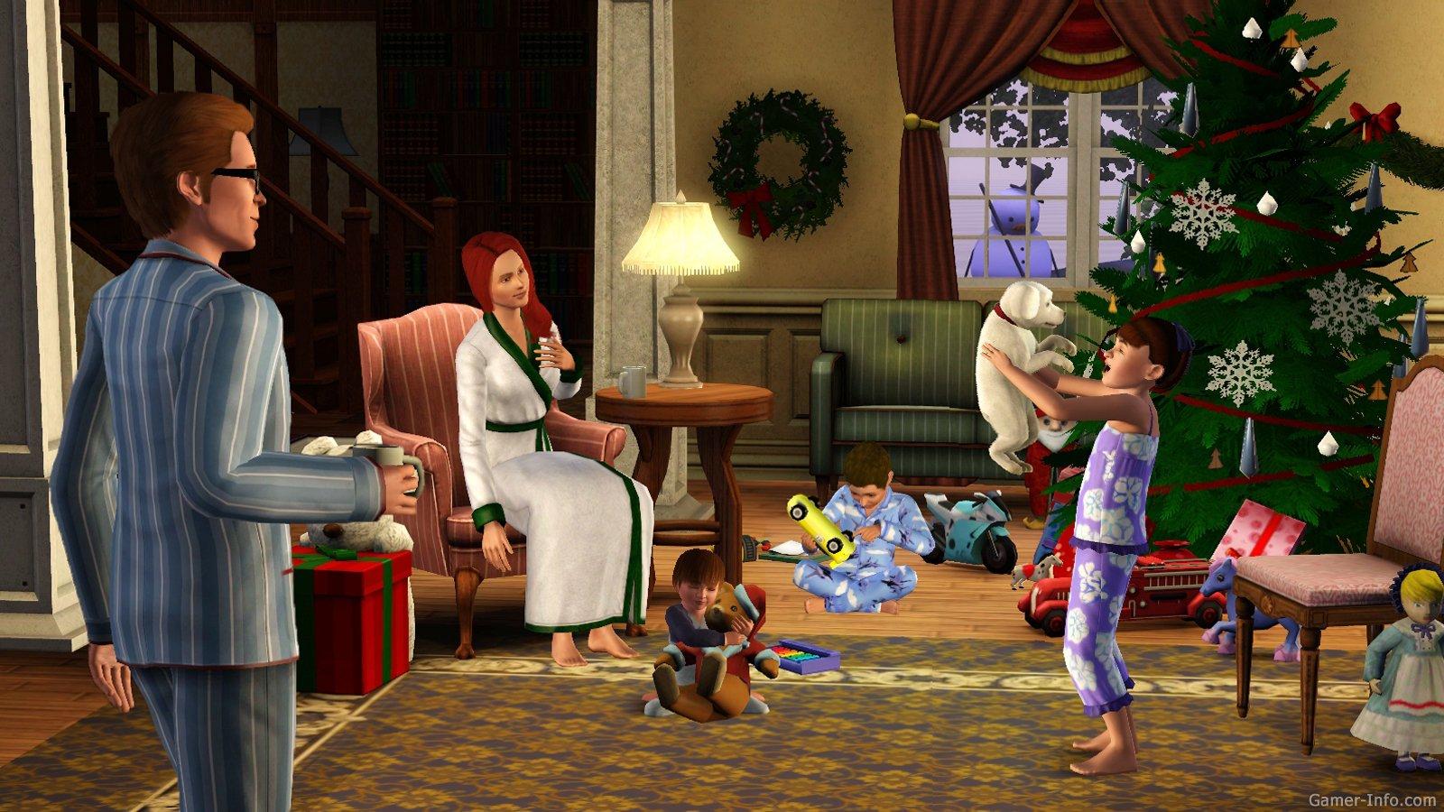 Сезонные праздники в The Sims 3 Времена года 76