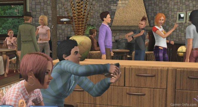 Скриншот игры The Sims 3