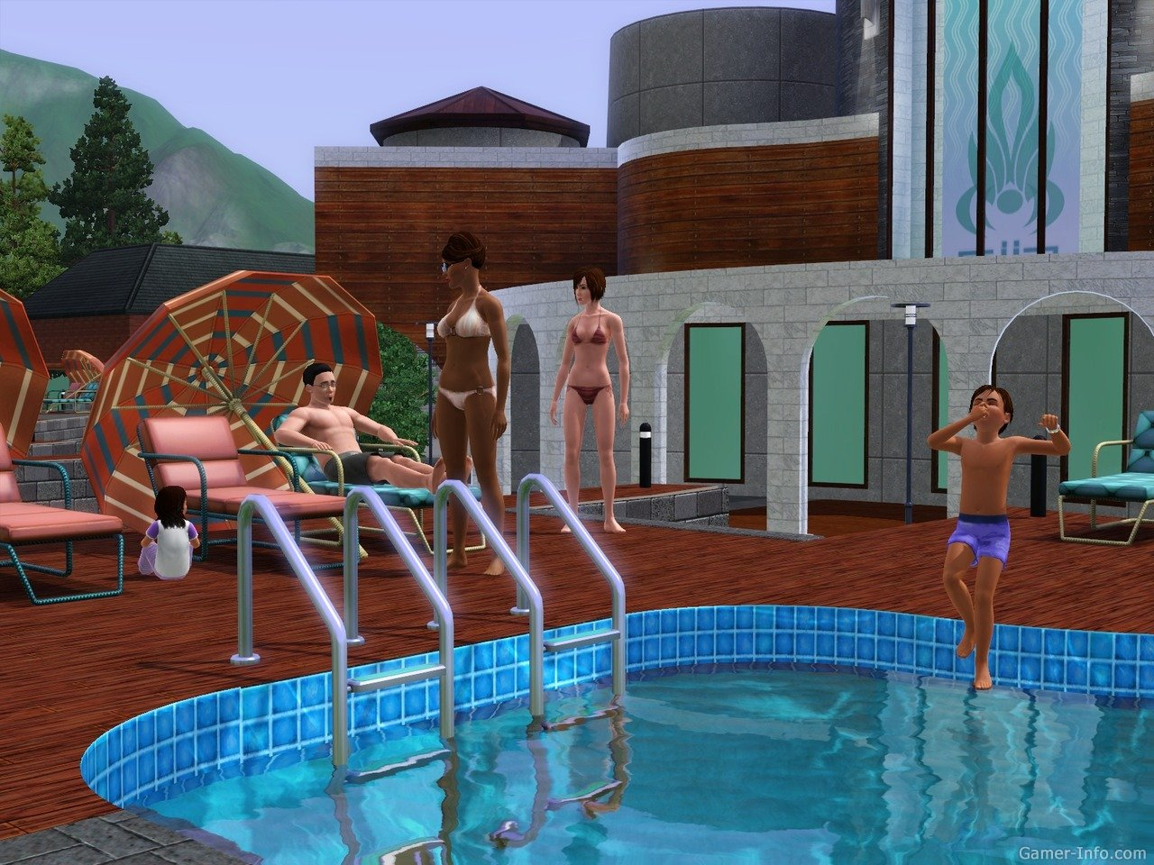 Screens Zimmer 7 angezeig: the sims 3 hidden springs download
