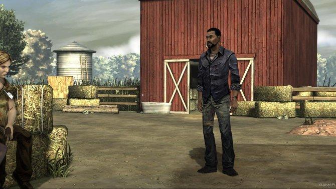 Скриншот игры The Walking Dead