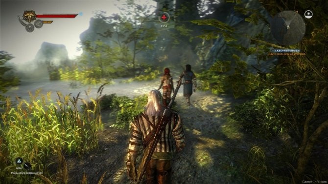 Скриншот игры The Witcher 2: Assassins of Kings