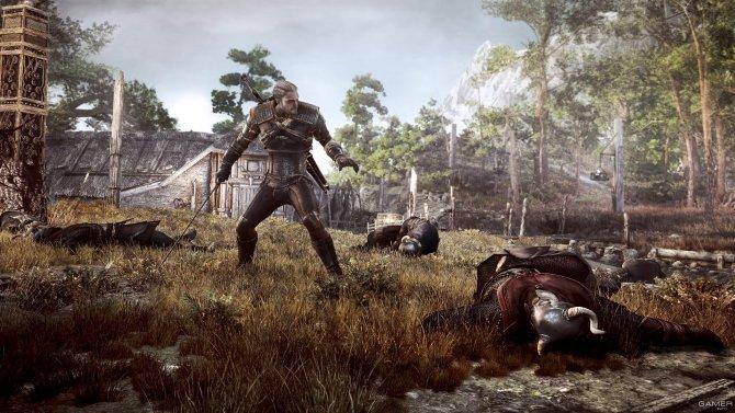 Скриншот игры The Witcher 3: Wild Hunt