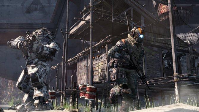Скриншот игры Titanfall