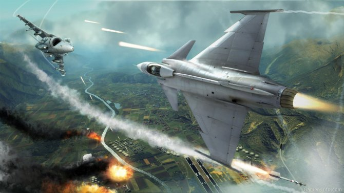 Скриншот игры Tom Clancy's H.A.W.X. 2