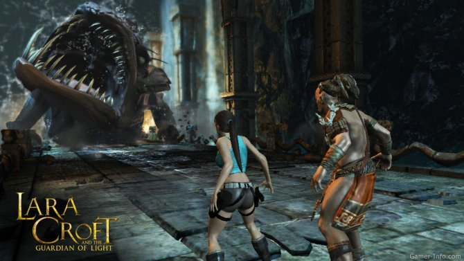 Скриншот игры Lara Croft and the Guardian of Light