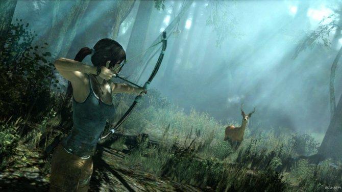 Скриншот игры Tomb Raider