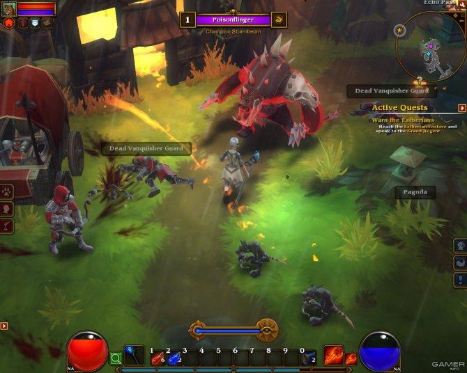 Скриншот игры Torchlight II