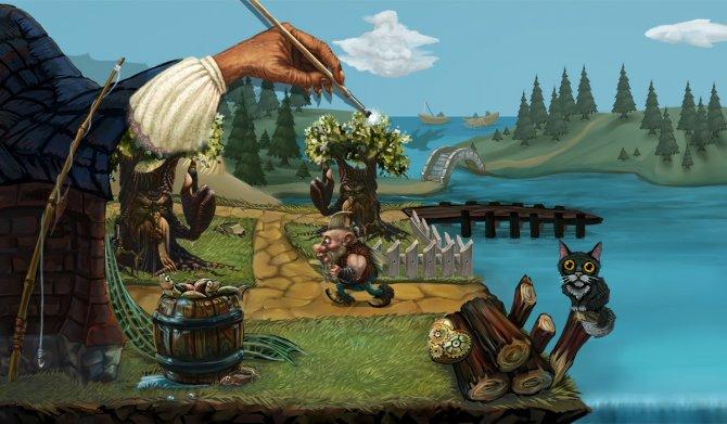 Скриншот игры Torek - Hero of The Painted World
