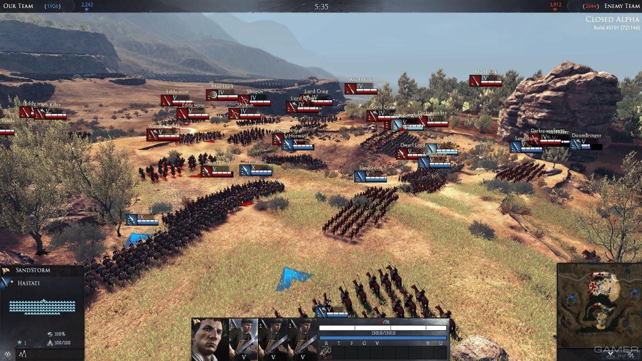 Wargaming объявила бесплатные выходные для игроков Total War: Arena