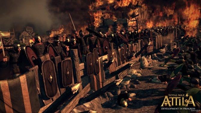 Скриншот игры Total War: ATTILA
