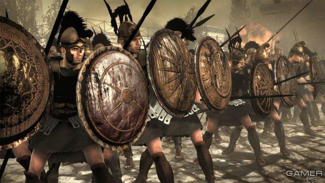 Скриншот игры Total War: Rome II