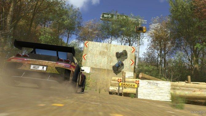 Скриншот игры TrackMania 2 Valley