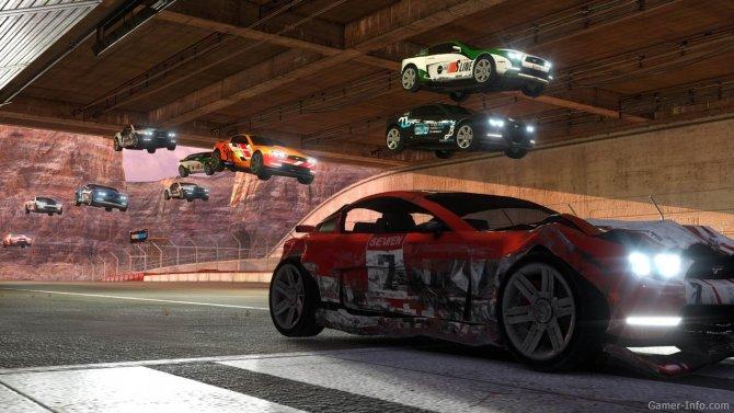 Скриншот игры TrackMania 2 Canyon