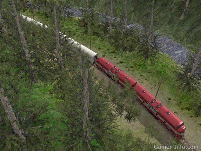 Скриншот игры Trainz Simulator 2010: Engineers Edition