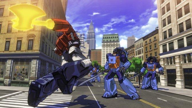 Скриншот игры Transformers Devastation