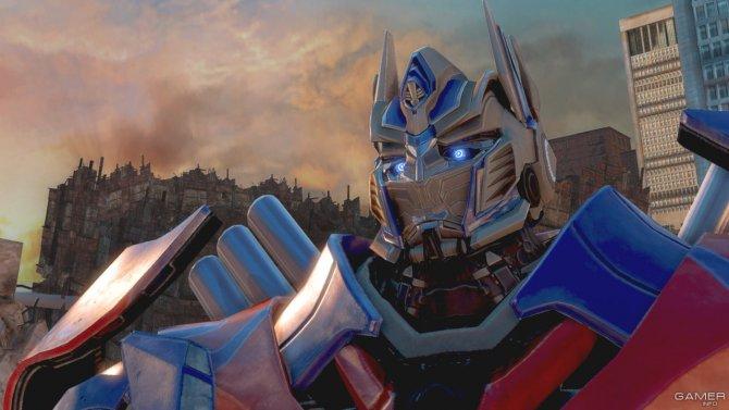 Скриншот игры Transformers: Rise of The Dark Spark
