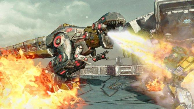Скриншот игры Transformers: Fall of Cybertron