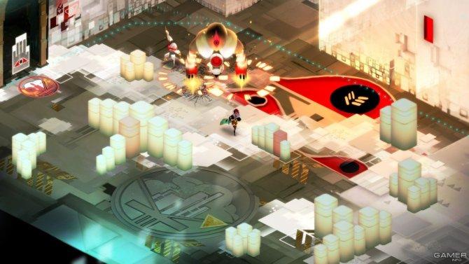 Скриншот игры Transistor