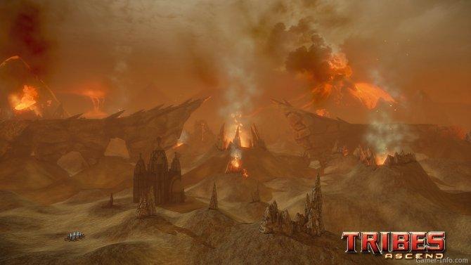 Скриншот игры Tribes: Ascend