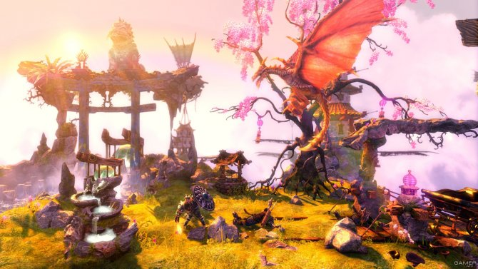 Скриншот игры Trine 2