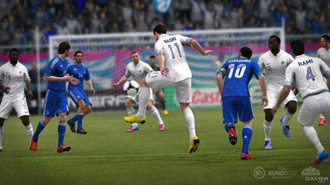 Скриншот игры UEFA Euro 2012