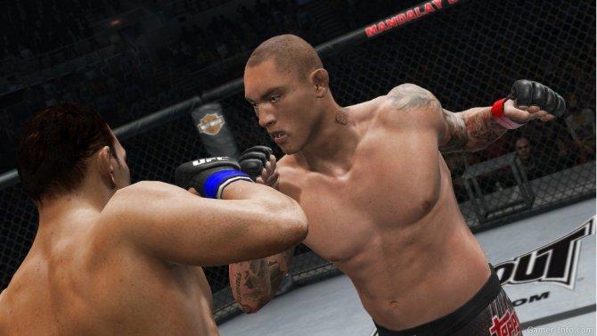 Скриншот игры UFC Undisputed 3